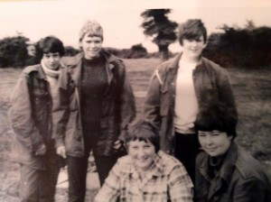 On the IOW exped. I am the one 2nd from the left, light hair. 1967