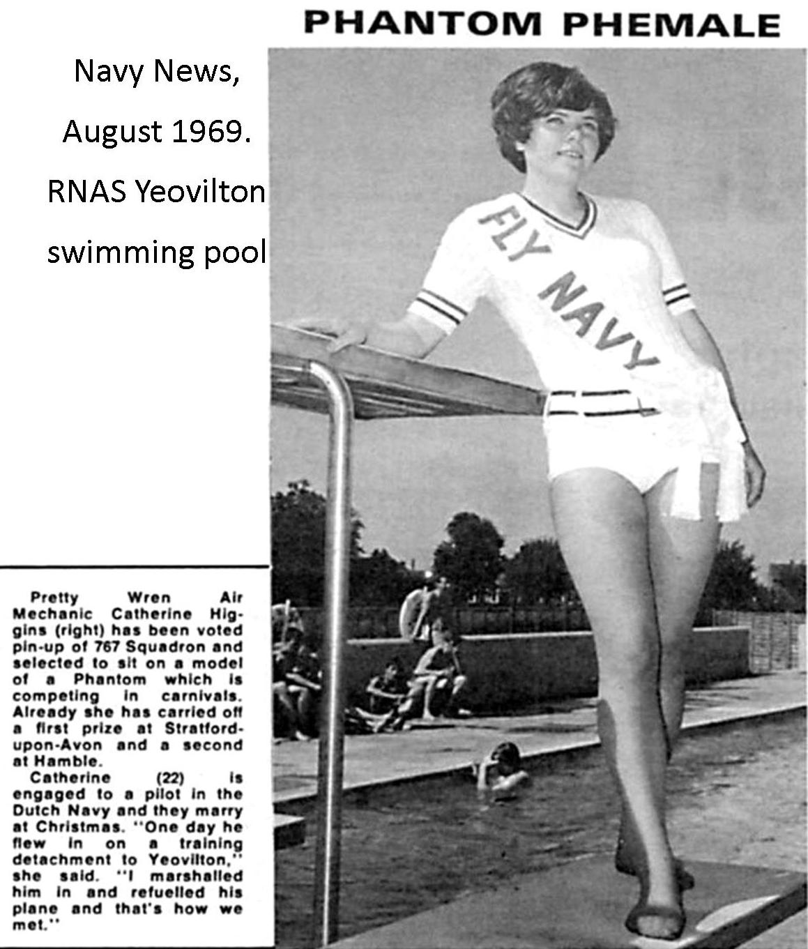 "Article from ""Navy News"" August 1969. Thanks to Phil Glover for sending me this one recently!"