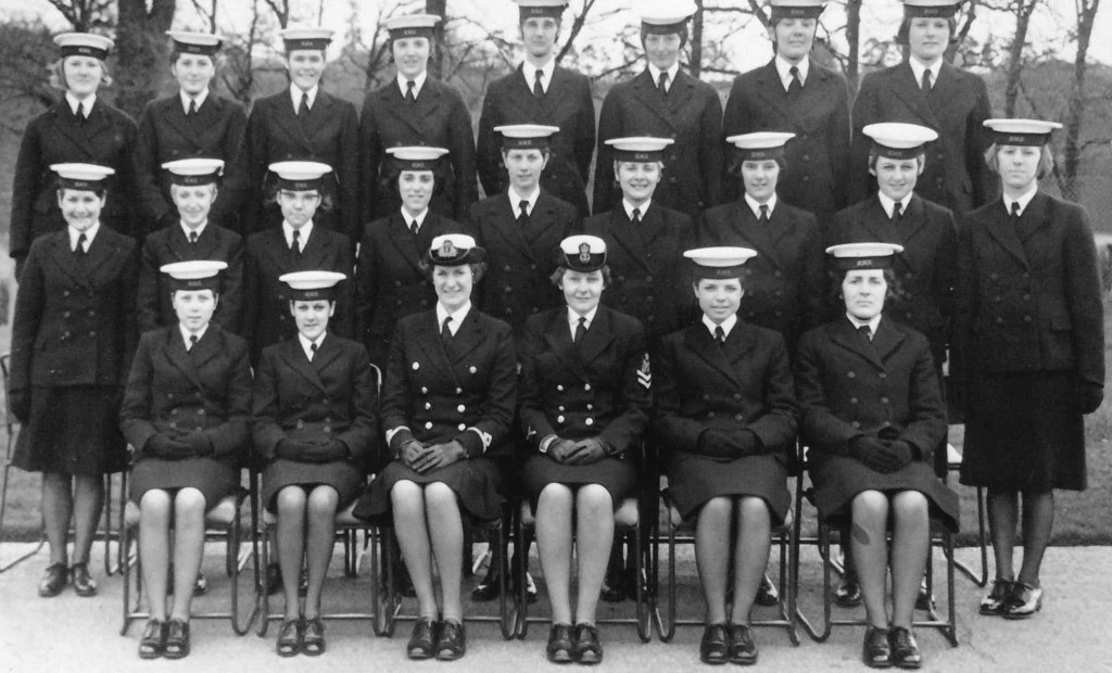Thesueus Division HMS Dauntless, March 1967, 3rd from the left, back row.