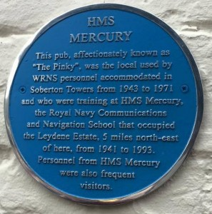 The Pinky's Blue Plaque
