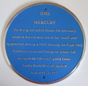 The Rising Sun plaque