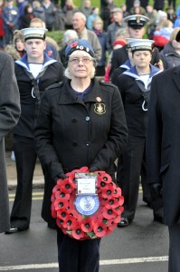 Alnwick Remembrance 2013. Photo Jane Coltman
